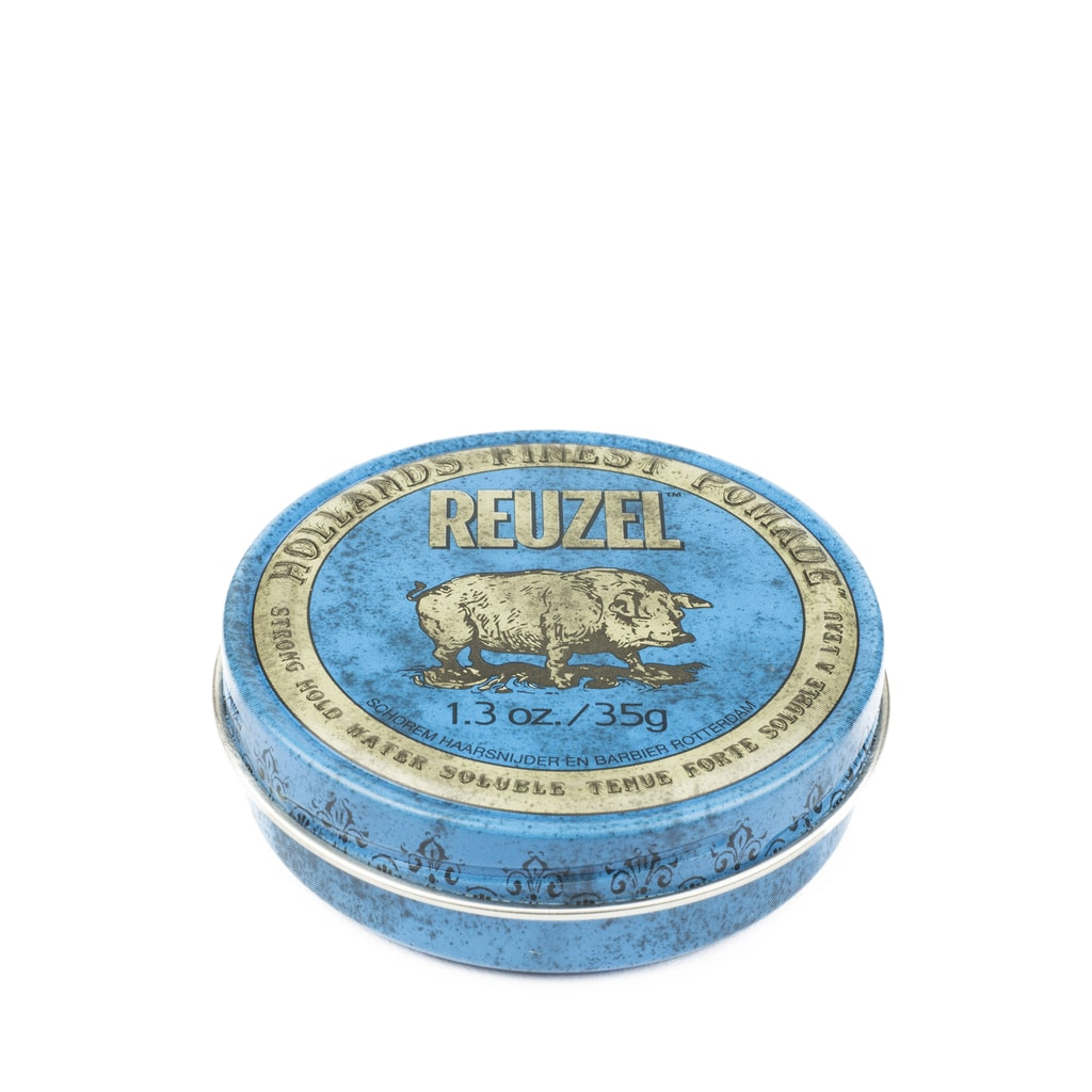 Sáp Reuzel Strong Hold Pomade Water Soluble High Sheen 1.3oz - 35g