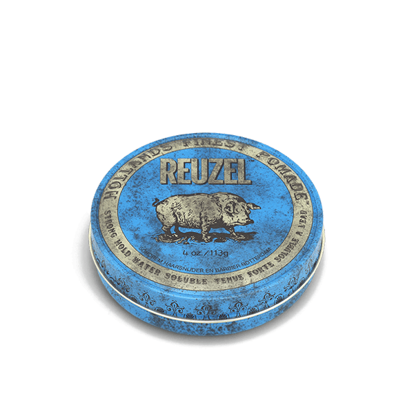 Sáp Reuzel Strong Hold Pomade Water Soluble High Sheen 4oz - 113g