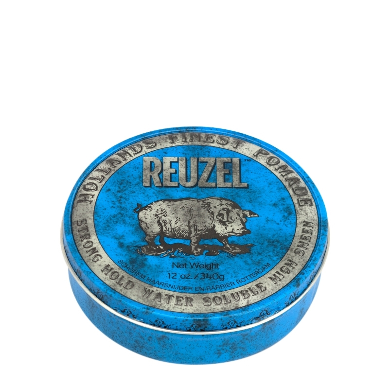 Sáp Reuzel Strong Hold Pomade Water Soluble High Sheen 12oz - 340g